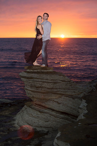 San Diego Wedding Sunset