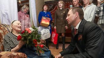 Глава округа поздравил ветеранов с Днём Победы