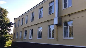 В Колтово выполнен ремонт фасада жилого дома