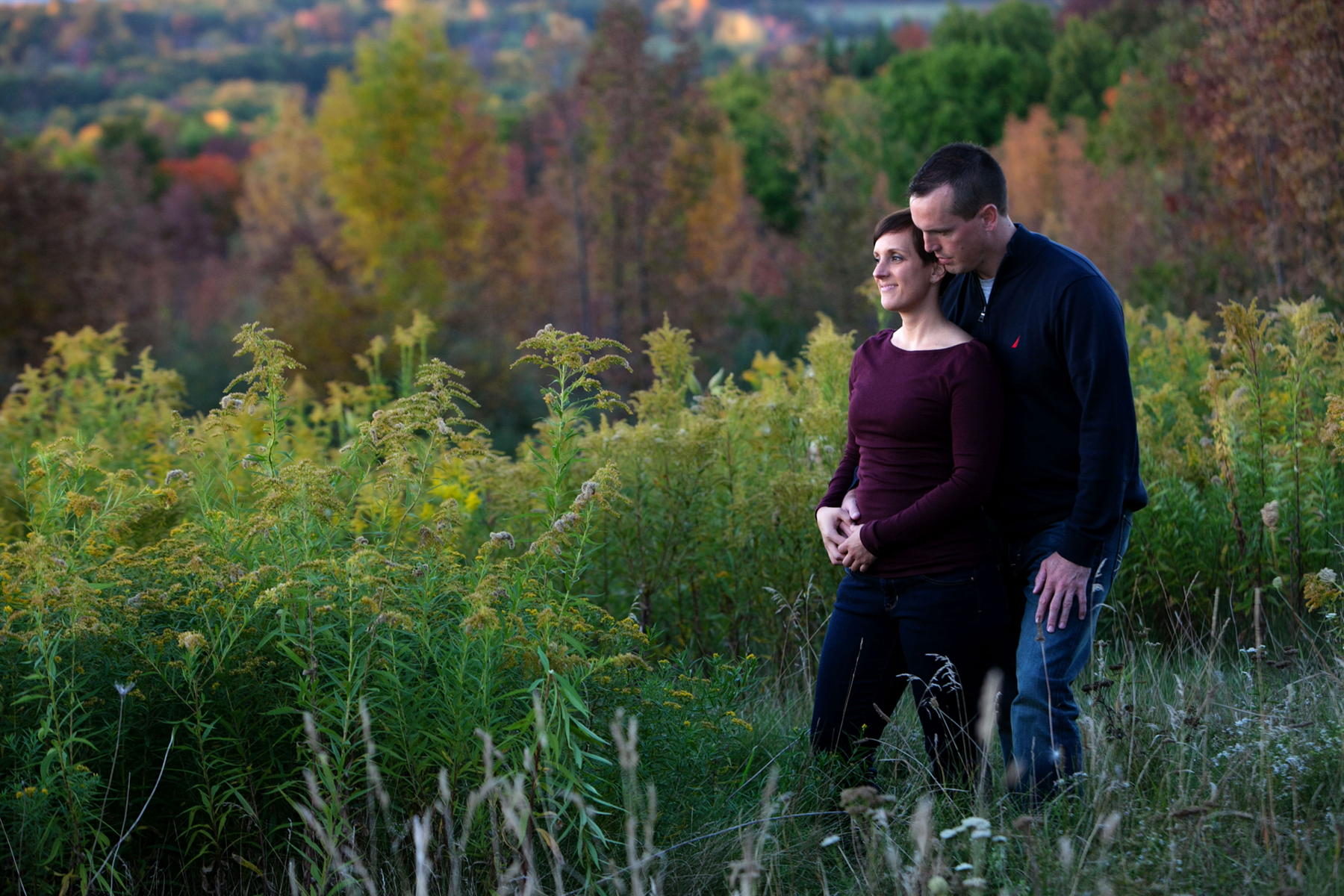Finger Lakes engagement photography