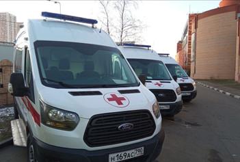 На Каширскую станцию скорой помощи поступил новый автомобиль