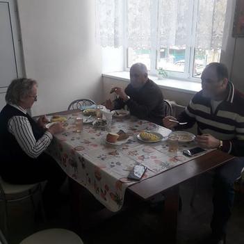 Дегустация обеденных блюд столовой СОШ № 10