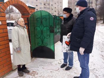Андрей Голубев поддержал инициативу волонтеров локомотивного Депо