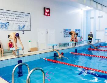 Состоялся первый этап лично-командного Фестиваля «Кашира за ГТО!» по плаванию