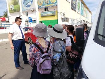 Андрей Голубев помог организовать экскурсию в Ступино для слабовидящих жителей Каширы
