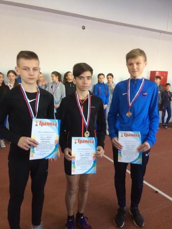 Каширские легкоатлеты заняли призовые места на областных соревнованиях