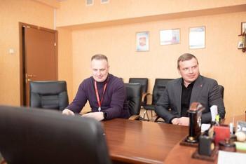 В окружной администрации прошло представление руководства ПАО «Группа Черкизово» Главе округа