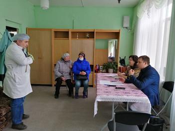 Расписание выездных встреч главного врача Каширской ЦРБ