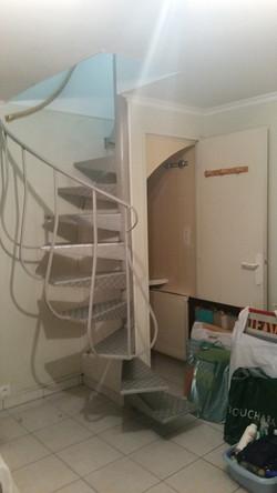 Escalier - AVANT