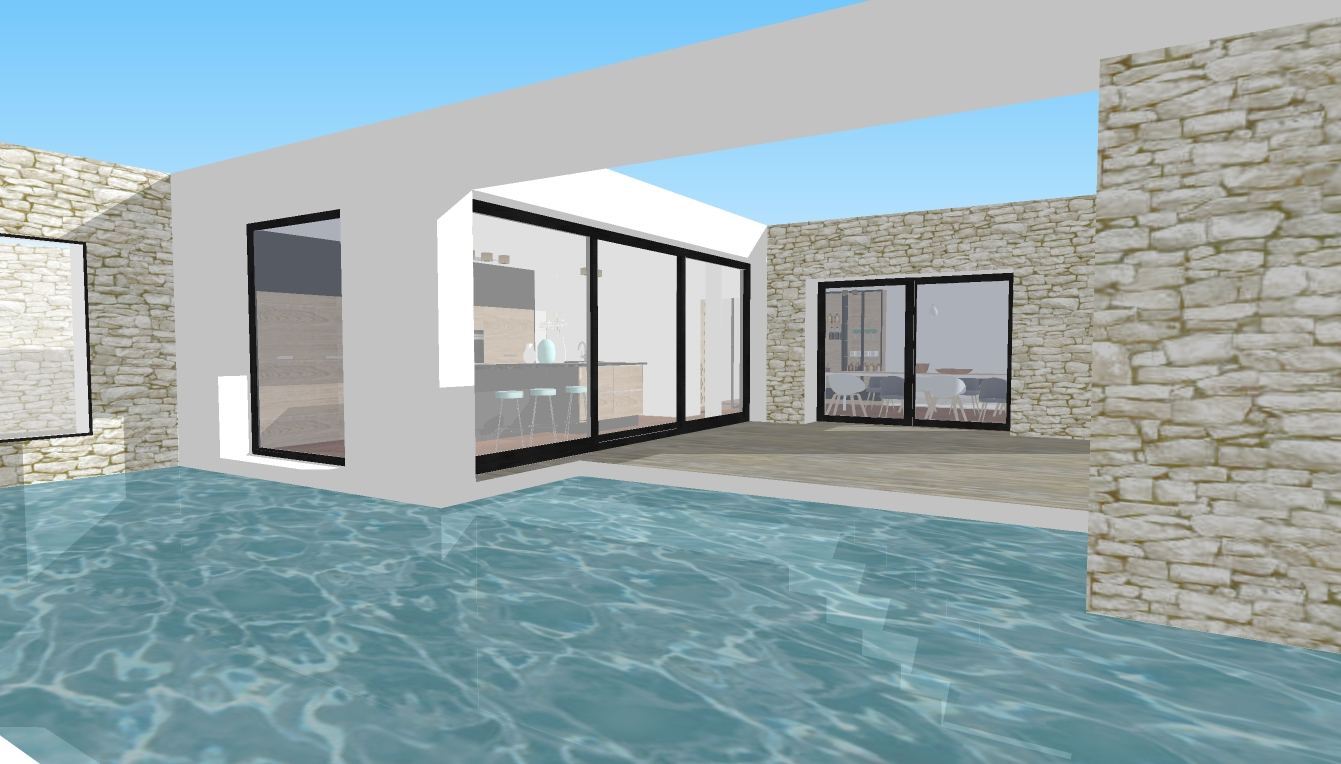 Extension & Piscine - Projet