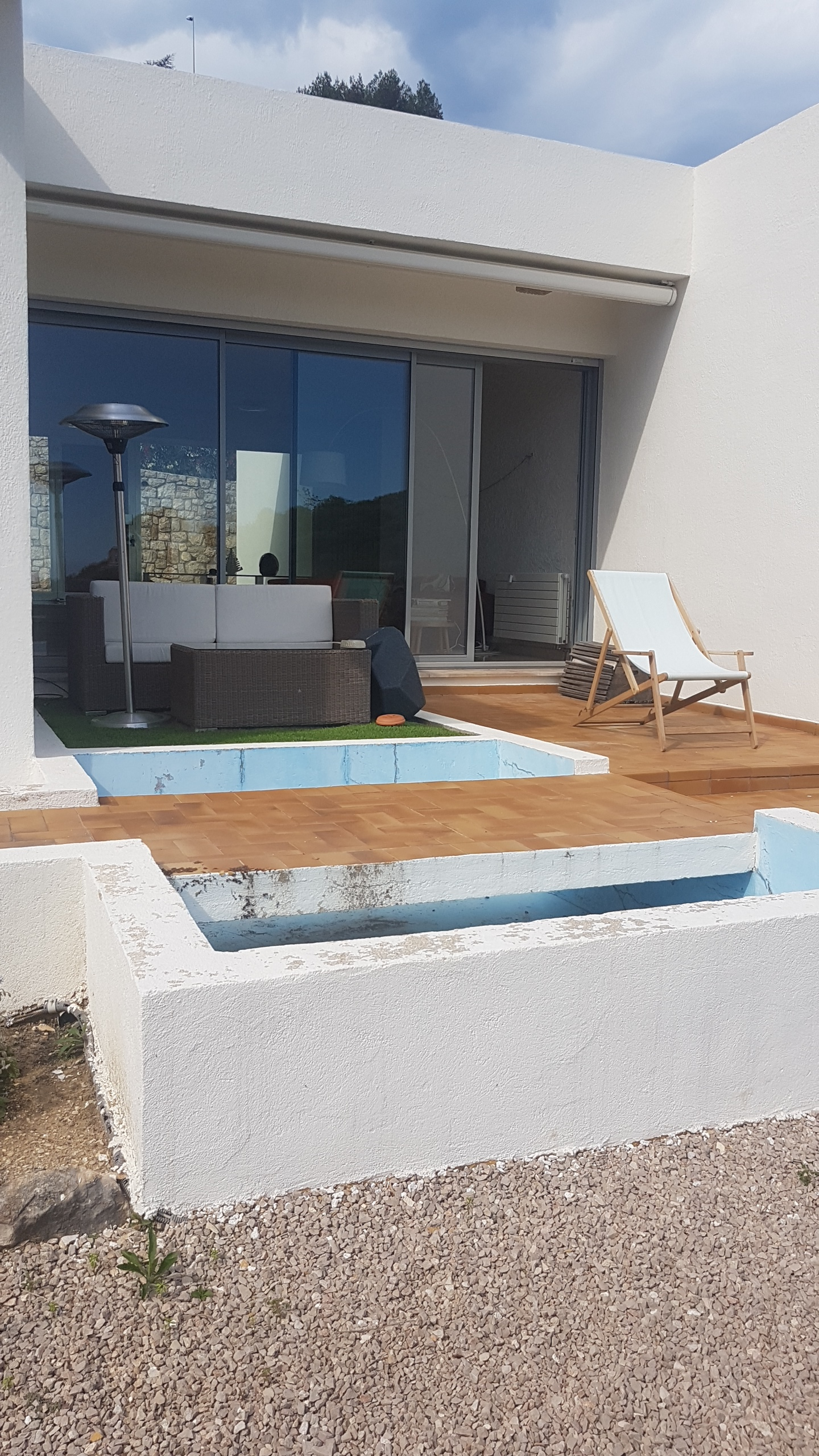 Terrasse Salon - AVANT
