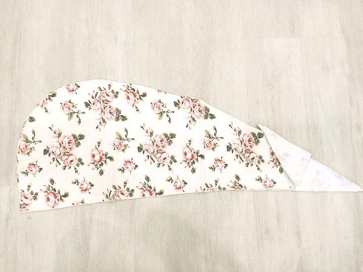 English Rose Hair Crown Wrap