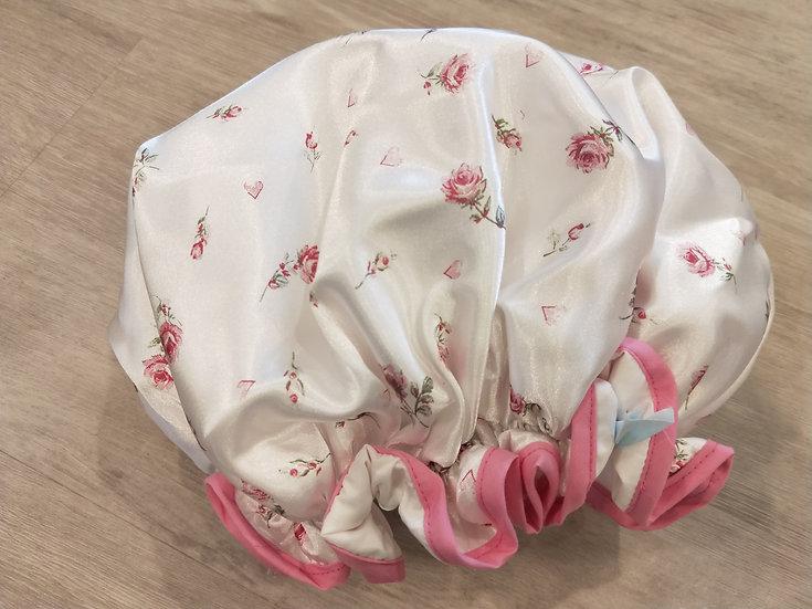 XL Sweet Rose Shower Cap