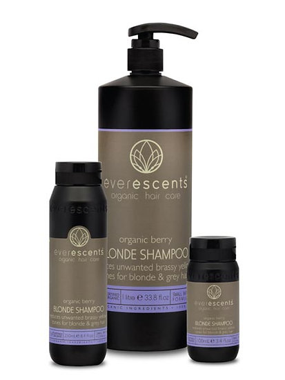 Berry Blonde Shampoo - Tones Blonde and Grey Hair