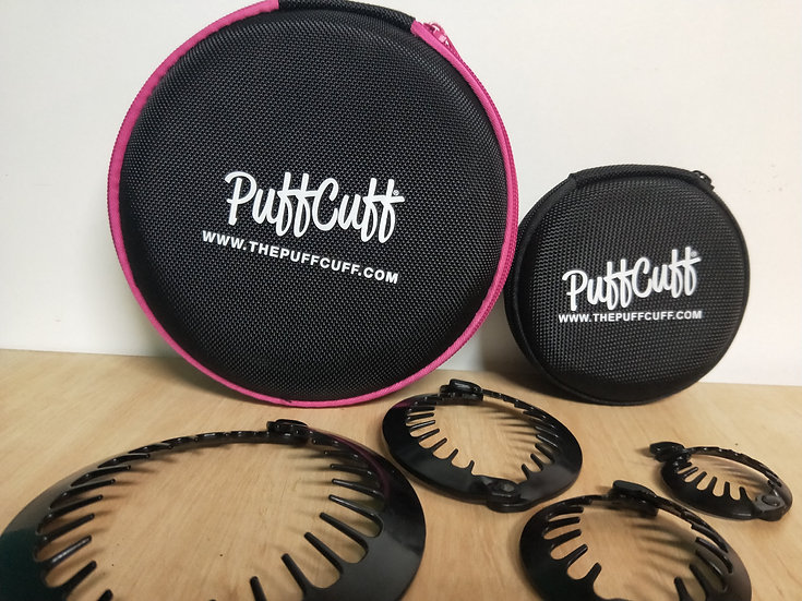 PuffCuff Round Hardcover Carry Case