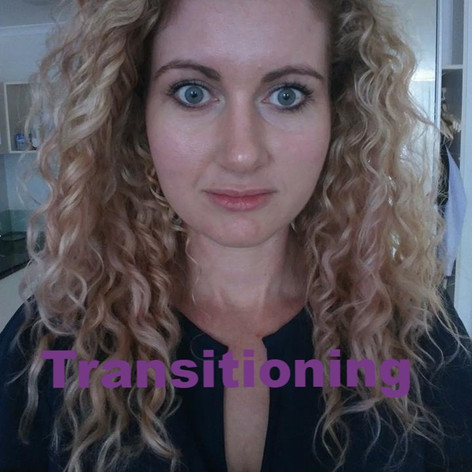 Transitioning to the curly girl method