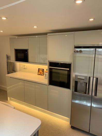 Kitchen installation in Sussex