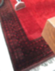Carpet steam cleaning in Cape Town, before and after