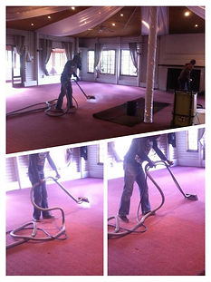Conference room carpet steam cleaning in Cape Town