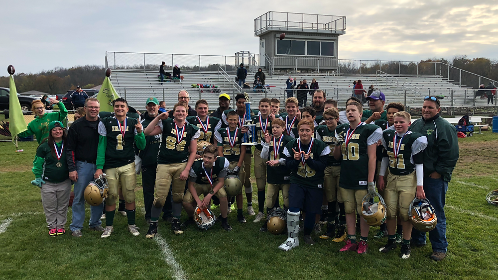 2018 NIFC 8th Grade Champions St. Mary Fighting Irish