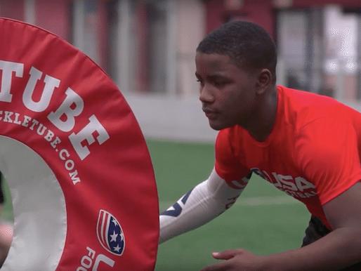 #TackleTubeTuesday football drills: Shoulder punch