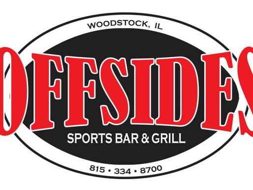 New 2018 Sponsor Offsides Sports Bar & Grill