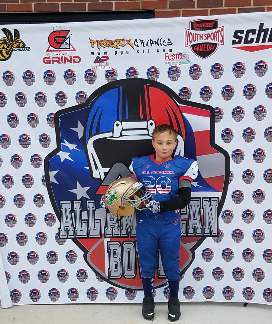 Ben Walters St. Mary Youth Football