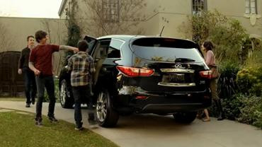 Happy Family Time In The Infiniti SUV