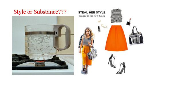 Do You Lean More Toward Style Or Substance? Part II