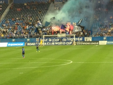 I Went To A Soccer Game And A Fire Broke Out.