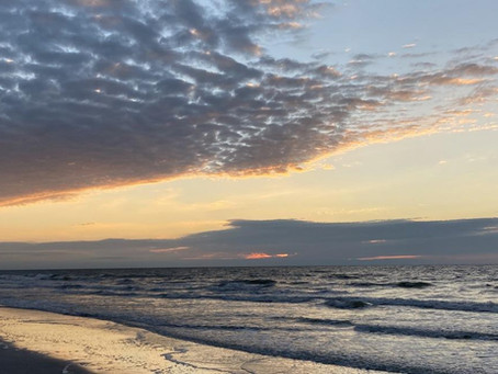 Walking on a Florida Beach During a Pandemic - Part I