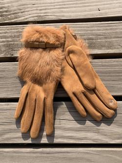 Handschuhe beige