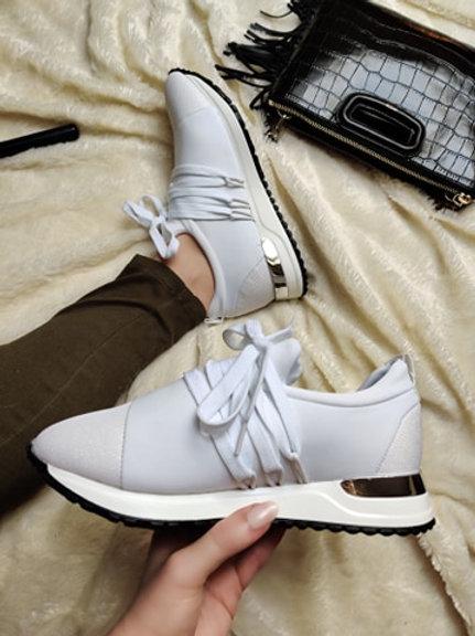 Sportschuhe Sneaker Glitzer