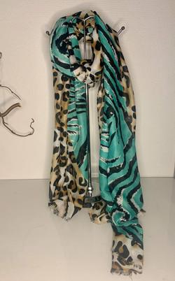 Schal Leopardenmuster