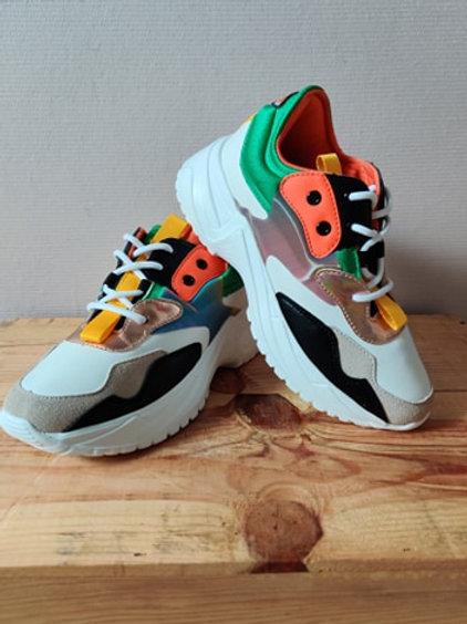 Sportschuhe Sneaker grün