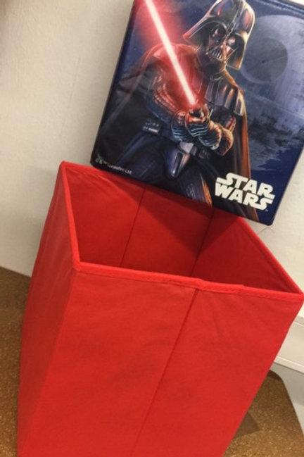 Hocker Stuhl Kinder Spieltruhe Box Star Wars