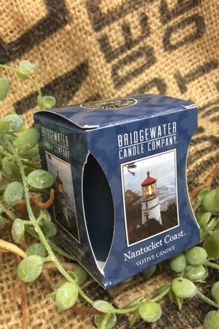 BRIDGEWATER Nantucket Coat Votivkerze
