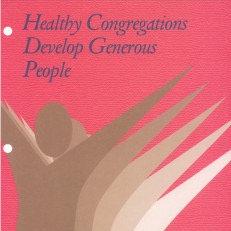 Workshop 5: Healthy Congregations Develop Generous People