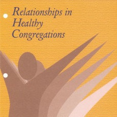 Workshop 4: Relationships in Healthy Congregations