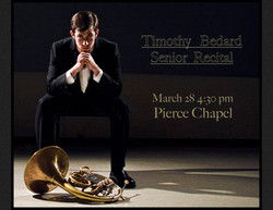 Timothy Bedard Senior Recital