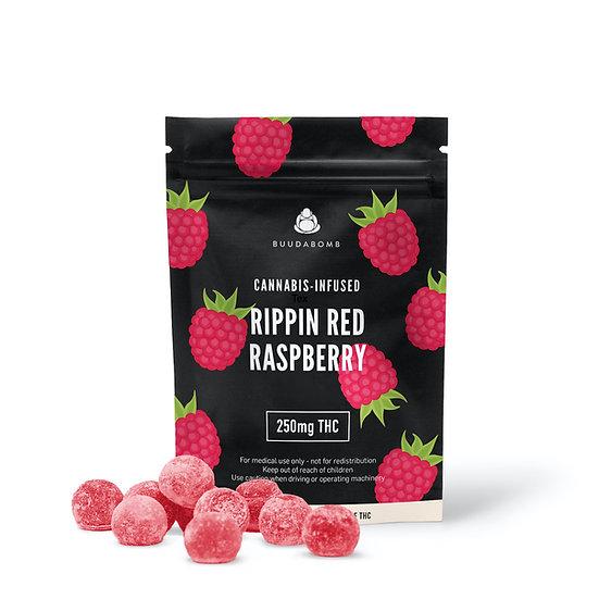 BuudaBomb - BLACK Label - Rippin Red Raspberry