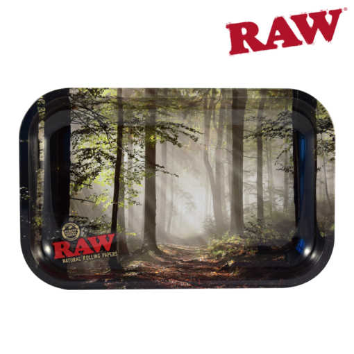 RAW® - Smokey Forest - Rolling Tray - Small