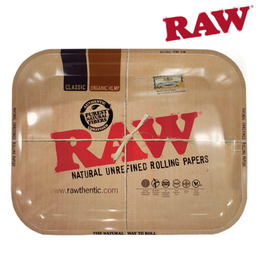 RAW® - Classic Metal Rolling Tray - Large