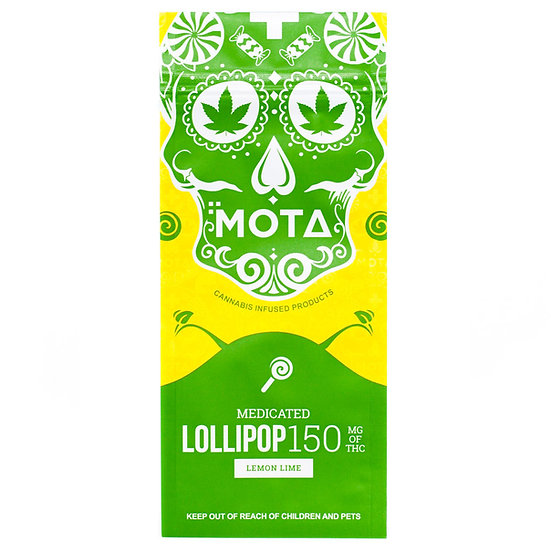 MOTA - Lollipop - Lemon Lime - 150mg THC