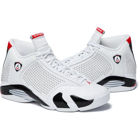Supreme®/Nike® - Air Jordan 14 - White