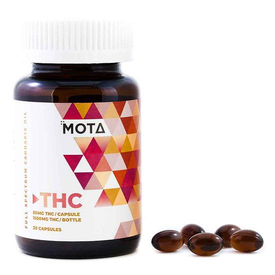 MOTA - THC Capsules - 50mg