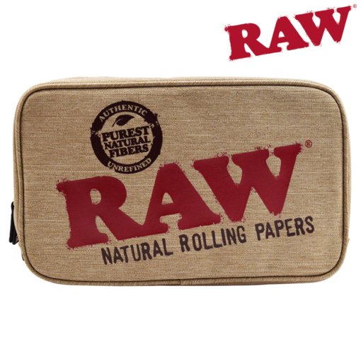 RAW® - Smell Proof Smokers Pouch -Large