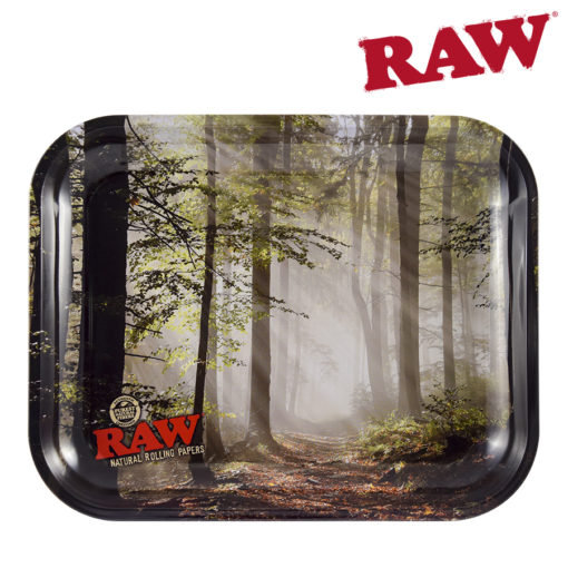 RAW® - Smokey Forest - Rolling Tray - Large