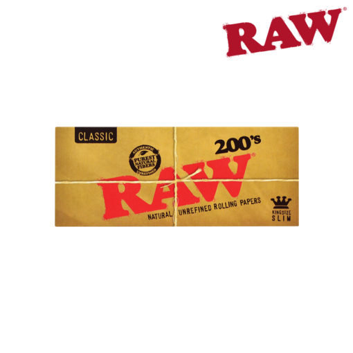 RAW® - Classic - King Size Slim 200's - Rolling Papers