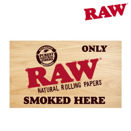 RAW® - Raw Only Smoked Here - Sticker